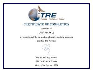 TRE Certification Lara