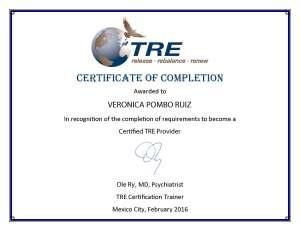 TRE Certification Vero